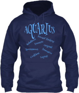 Aquarius Zodiac Traits Hoodie