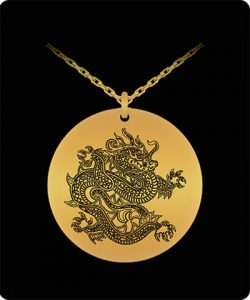 18 k Gold Plated Necklace Pendants