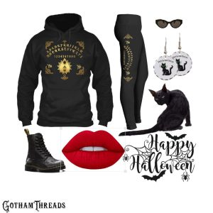 Halloween Costume Leggings Hoodies Jewelry to wear to the Haunted House or Trick-or-Treating
