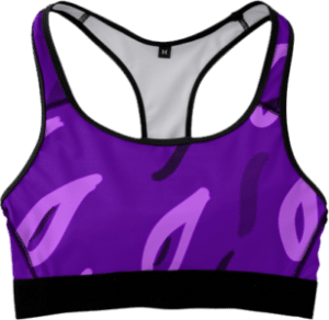 Purple Fitness Sports Bra
