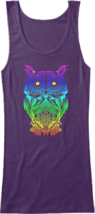 Psychedelic Owl Tank Top