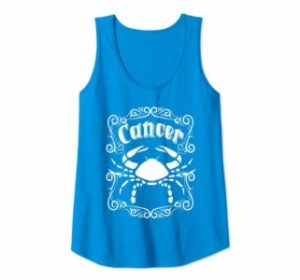 Tank Top Cancer Crab Zodiac Sign