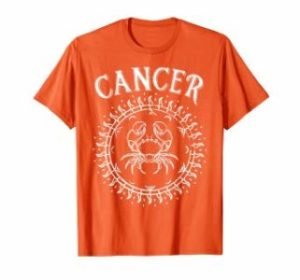 Cancer Zodiac Sun T shirt