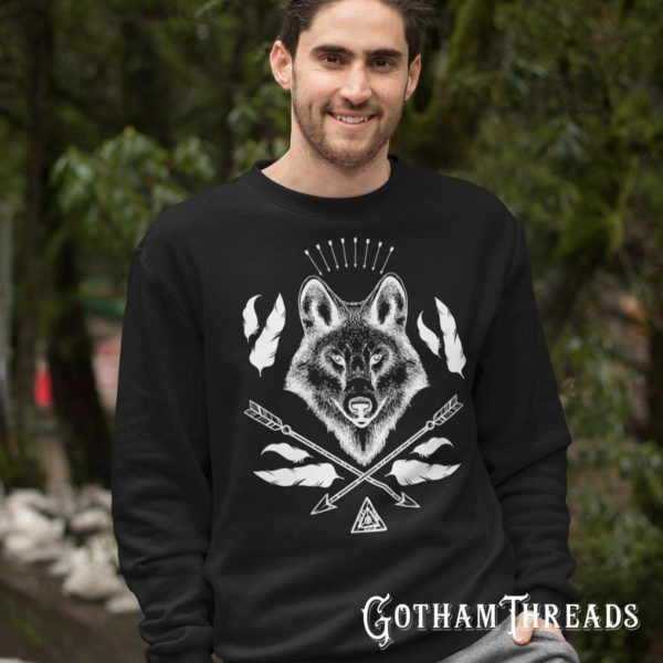 Wolves Outdoors Sportsman Hoodies, T shirts, Sweatshirts and Tank Tops for men and women Casual Clothing