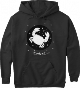 Cancer Zodiac Sign Constellation Hoodie