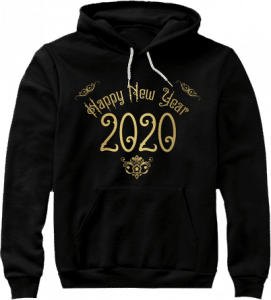 Happy New Year 2020 Hoodie