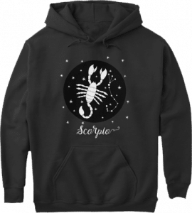 Scorpio Zodiac Sign Constellation Hoodie
