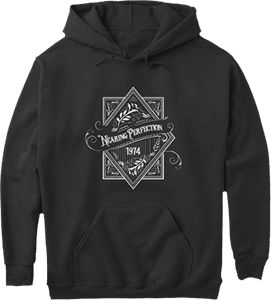 1974 Nearing Perfection Birth Year Age Hoodie