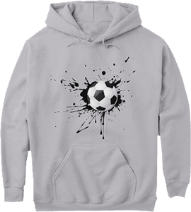 Paint Splash Soccer Ball