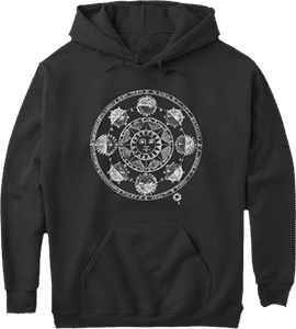 Astrology Sun and Moon Phases Hoodie