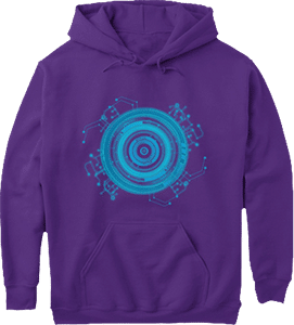 Science Fiction Gamer HUD Hoodie