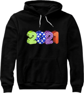 2021 Premium Hoodie for New Years Eve Celebrations