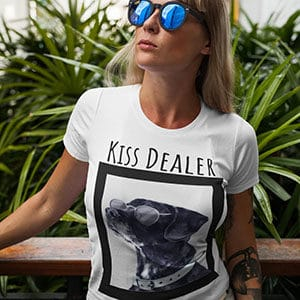 Dog Lovers Funny Kiss Dealer Shirt