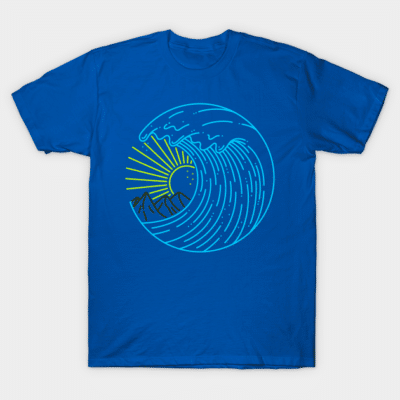 Beach surfing sailing shirt