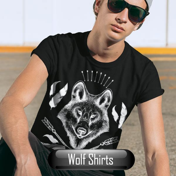 Browse Wolf Shirts