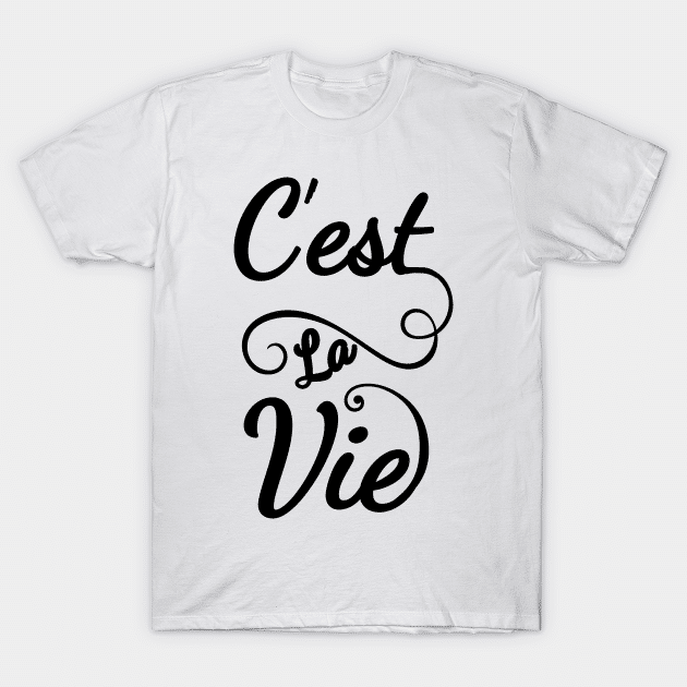 french shirt that's life