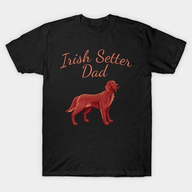 Irish Setter Dad Dog Shirt
