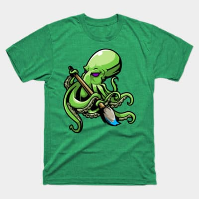 octopus artist sailing shirt