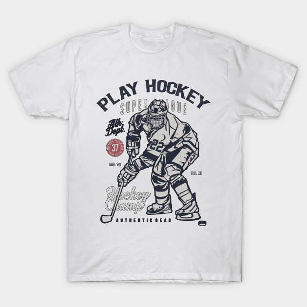 vintage hockey shirt